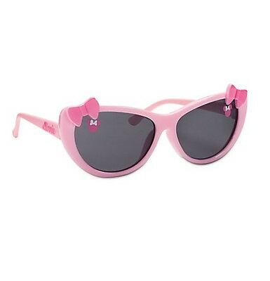 Disney Store Minnie Mouse Pink Bow Tie Baby Sunglasses Girls 100% UV Protection