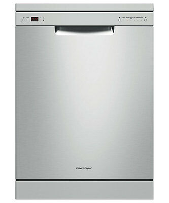 Fisher & Paykel 60cm Stainless Steel Freestanding Dishwasher DW60CHX1