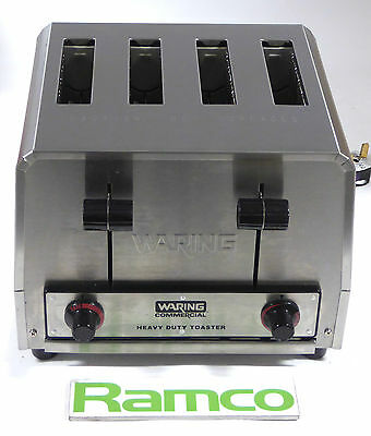 Waring WCT805K Heavy Duty Commercial  4 Slice Toaster