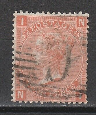"Constantinople 1865 Qv Great Britain 4D With ""c"" Postmark"