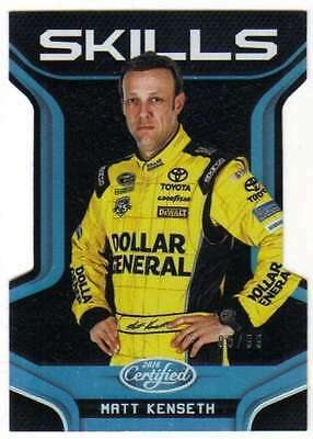 2016 Panini Certified NASCAR Racing Skills Mirror Silver /99 #19 Matt Kenseth
