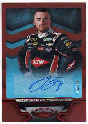 2016 Certified Racing Potential Signatures Mirror Red AUTO /20 #1 Austin Dillon