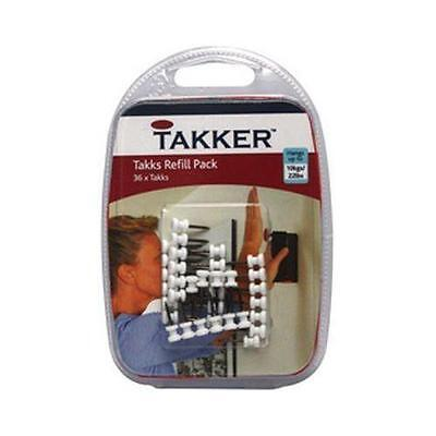 Takker TS20 Takks Refill Pack 36 Takks Included Per Pack White - New