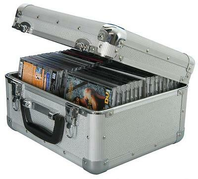 Citronic 127.064 Aluminium CD Flight Case 40 Case Capacity 285 x 180 x 250mm New