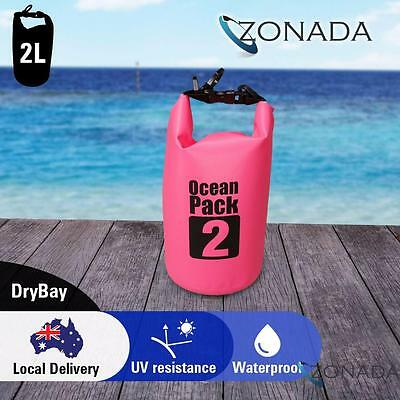 New Zonada 2L Waterproof Storage Dry Carry Bag Sack Backpack Pouch Boat Kayak