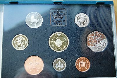 Royal Mint 1994 UK Proof Coin Collection 8 Coin Set  #