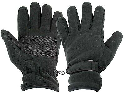 Warm Highlander Insulated Waterproof Fleece Mens Gloves with Reinforced Palm