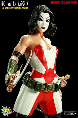 Sideshow Kabuki Mixed Media Statue by Pop Culture Shock Premium EXCLUSIVE Vers.