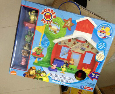 The Wonder Pets Adventure Talking Playset House Ming Ming  New In Box