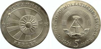 5 Mark Kepler 1971  ST aus original Rolle