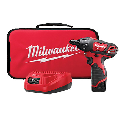NEW Milwaukee M12™ Cordless LITHIUM-ION Screwdriver Kit 2401-21