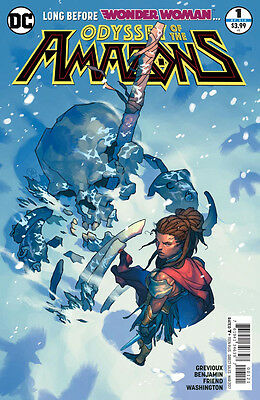 The Odyssey of the Amazons  (2017) #1 VF/NM Yasmine Putri Cover Wonder Woman