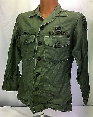 1969 US Army JFK Special Warfare Center Officers Shirt