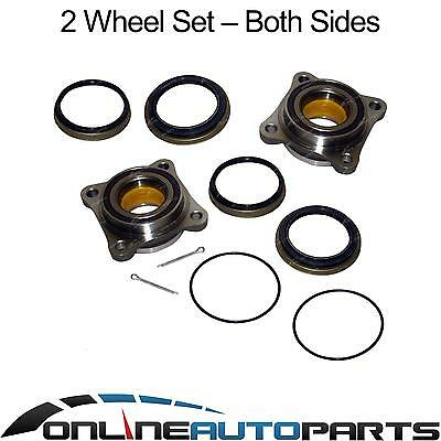 2 New Front Wheel Bearing Hub + Seal Kit Toyota Hilux 4wd 2005-13 Left and Right