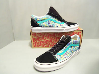 Vans Old Skool Van Doren Hoffman Mens Skate Shoes Black Multi SIZES! NEW NIB