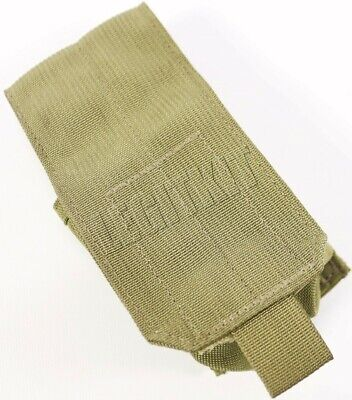 NEW Eagle Industries MLCS Single Smoke Grenade Pouch Tan Buckle Navy SEAL MOLLE