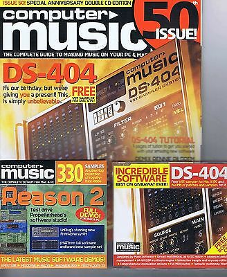 DS-404 Computer Music + 2 CD no. 50   2002