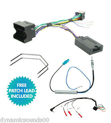 Steering Stalk Control Interface Adaptor Harness & Patch Lead For Vauxhall