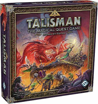 Talisman: The Magical Quest [Board Game, 2-6 Players, Games Workshop Fantasy]