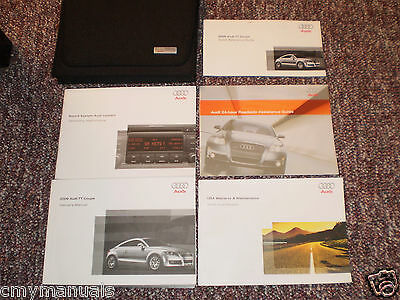 2009 Audi Tt Coupe Car Owners Manual Books Guide Case All Models