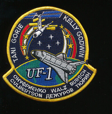 Space Shuttle Endeavour Sts-108 Nasa Patch Usa