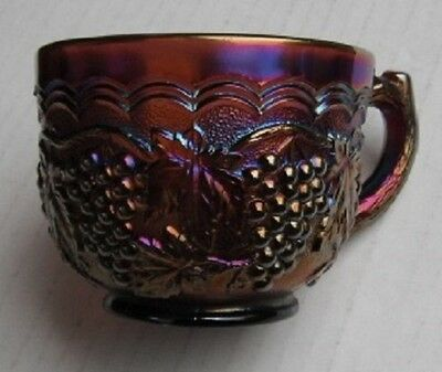 Imperial Grape...punch cup... Purple...vintage--F
