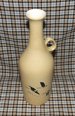 """Hand Painted Ceramic Vase signed H Corbett - Mold #3728 - Made in Canada - 11"""""""