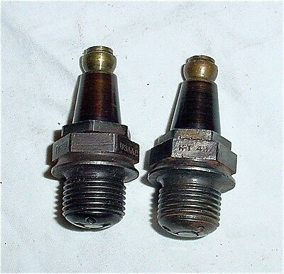 Vintage USA AC Motorcycle 18mm Spark Plugs Indian Harley Davidson Henderson Thor