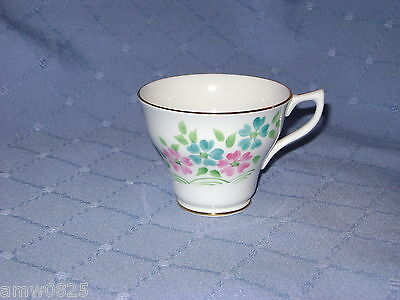 VINTAGE ROSINA BONE CHINA HAND PAINTED TEACUP CUP ONLY no saucer ENGLAND