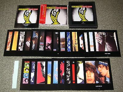 ROLLING STONES Japan PROMO ONLY box set CD cards BOOKLET obi COMPLETE official