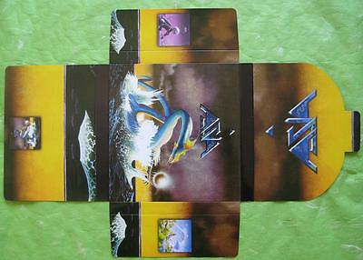 ASIA Japan card sleeve mini LP CD UNUSED PROMO BOX Yes