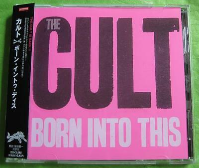 THE CULT Japan PROMO issue CD Born Into This others available IAN ASBURY