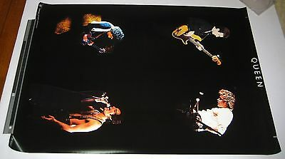QUEEN original JAPAN 1970s PROMO ONLY POSTER 84x59cm No.2 FREDDIE MERCURY Warner