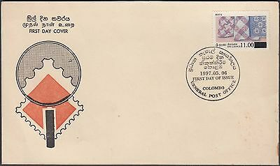 Sri Lanka 1997 Mats Value On Nice First Day Cover