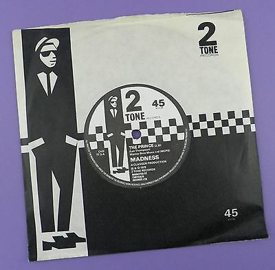 """Madness - The Prince, Two Tone 7"""" Single 1979 Paper Label Exc- /VG+"""