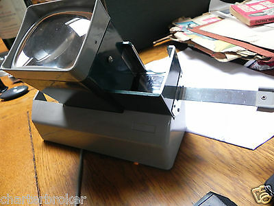 Vintage early model Photax Photo Viewer, with power lead, full working order