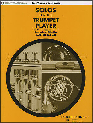 Solos for the Trumpet Player Sheet Music Book with Accompaniment Audio