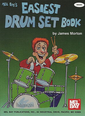 Mel Bay's Easiest Drum Set Book Learn How to Play Beginner's Method