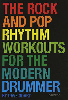 The Rock & Pop Rhythm Workouts for the Modern Drummer Drum Music Book/CD