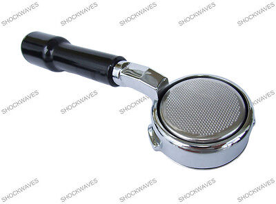 Bottomless Naked Portafilter Handle for Gaggia with 14g Double Shot Basket
