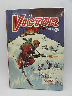 VICTOR Book for Boys 1977 Annual - Excellent - Tough of the Track Ripping Yarns