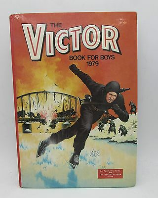 VICTOR Book for Boys 1979 Annual - Excellent - Tough of the Track Ripping Yarns