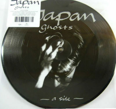 "JAPAN Ghosts 7"" PICTURE DISC VINYL SINGLE NEW"