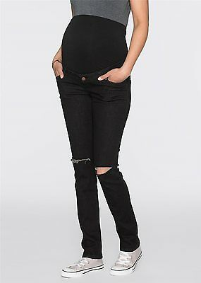 Damen Umstandsmoden Jeans, 200100 in Black Denim