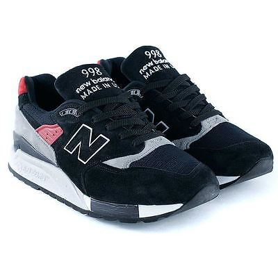 New Balance x Black Sheep 998 Made In USA Black Grey Trainers Limited Release
