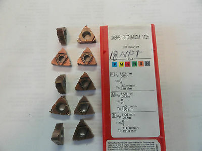 Sandvik Carbide Lay Down Threading Inserts, 266RG-16NT01A180M, Grade 1125