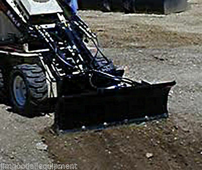 "Toro Dingo 46"" Dozer-Snow Blade by Bradco,Fits Mist Mini Loaders,New, Was $1599"
