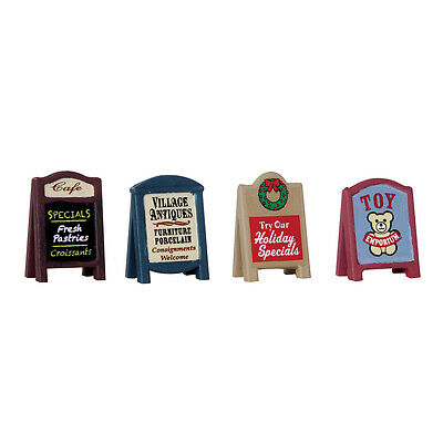 Village Signs Lemax Christmas Village Accessory - New For 2016
