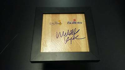 MITCH KUPCHAK 1978 Washington Bullets Finals Champions Signed + Framed Floor