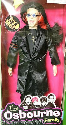 Vintage Ozzy The Osbourne Family Talking Doll Sealed In Orig Box Dated 2002